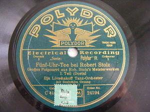 ILJA LIVSCHAKOFF TANZ O. Polydor 24194 78 POTPOURRI NM