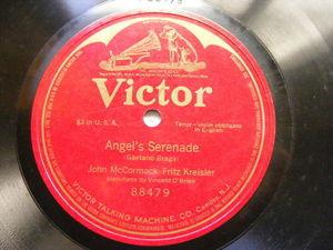 McCOMARCK & KREISLER Victor 88479 OPERA 78  ANGEL'S SERENADE NM