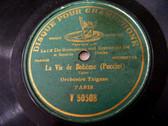 Orch TZIGANE Gramophone 50508 78rpm LA VIE DE BOHEME