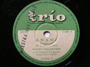 VICTOR VILLAMAYOR w/ LILY ORTIZ Trio 34 PARAGUAYFOLK 78