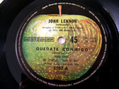 """7"""" LENNON Apple 1167 ARGENTINA 45rpm QUEDATE CONMIGO"""