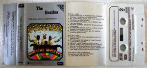 THE BEATLES Gira Magica y Misteriosa ARGENTINA Cassette
