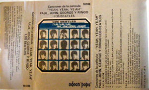 "THE BEATLES Film ""Yeah Yeah Yeah"" ARGENTINA Cassette"