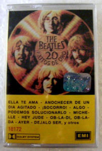 THE BEATLES 20 Exitos De ORo ARGENTINA Cassette NEW
