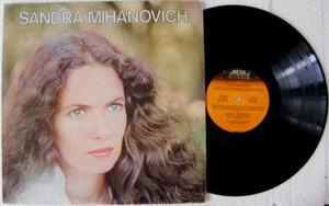 SANDRA MIHANOVICH Pto Pollensa ROCK Argentina LP 1982
