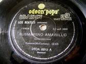 "7"" THE BEATLES Odeon Pops 8213 Argentina 33 SUBMARINO"