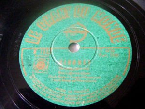 BEN LIGHT, HERB KERN, LLOYD SLOOP Chant Du Monde 78rpm