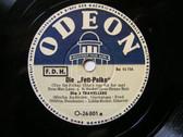 DIE 3 TRAVELLERS Odeon 26801 GERMAN 78 DIE FETT-POLKA