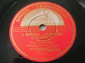 A. RUBINSTEIN Gramophone 1762 PIANO 78rpm VILLALOBOS