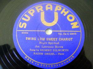 DILWORTH & RADIM DREJSL Supraphon 22978 78 NEGRO SPIRIT