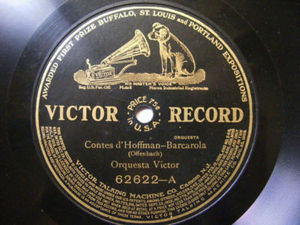 CARLOS D'ALMAINE Victor 62622 VIOLIN 78rpm FAUST NM