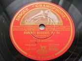 ARTHUR SCHNABEL Gramophone DB 3358 PIANO 3x78 Set SCHUB