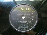 CARLOS PUEBLA Stentor SA-1010 CUBAN REVOLUTION SONG 78rpm Y EN ESO LLEGO FIDEL