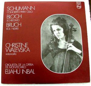 WALEVSKA & ELIAHU INBAL Philips 6500 160 SCHUMANN LP