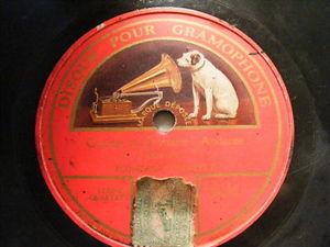 FLONZALEY QUARTET Gramophone 08080 78 MOZART Qtet in D
