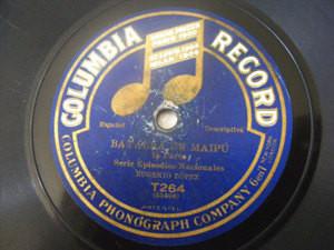 EUGENIO LOPEZ Columbia 264 HISTORICAL ARG EPISODES 78