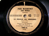 "7"" McCARTNEY & WINGS Apple 1063 Argentina 45 SALLY G"