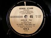 """7"""" RINGO STARR Apple Records 1070 Argentina 45 SOLO TU"""