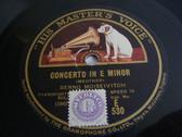BENNO MOISEIVITCH Hmv E 530 PIANO 78rpm PROKOFIEF