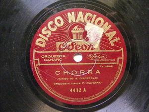 FRANCISCO CANARO Nacional 4432 TANGO 78 CHORRA / QUE VACHACHE