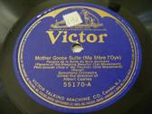 ALBERT COATES Victor 55170 78 RAVEL Mother Goose Suite
