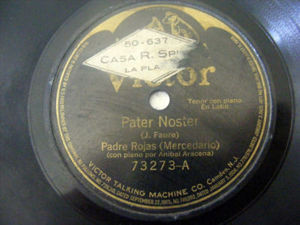 FATHER ROJAS Victor 73273 78 PATER NOSTER In Latin