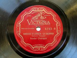 F. CHALIAPIN Victrola 6783 OPERA 78rpm LA PULGA