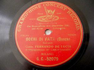 FERNANDO DE LUCIA G&T 52079 OPERA 78 OCCHI DI FATA