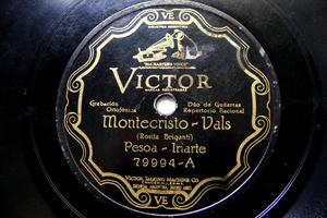 PESOA-IRIARTE Victor 79994 FOLK 78rpm MONTECRISTO/PARA