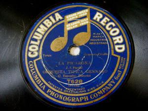 GENNARO ESPOSITO Columbia 628 78rpm LA PICARONA/MONTURA