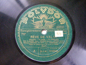 CLAUDEL, DU ROY, GAUDIN, LEPRIN Polydor 516540 OPERA 78