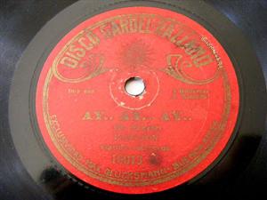 Disco GARGEL-RAZZANO 18013 TANGO 78 MI MADRE/AY,AY,AY