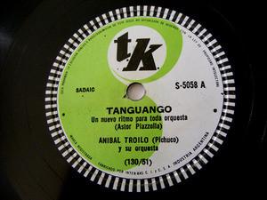 ANIBAL TROILO Tk 5058 TANGO 78rpm TANGUANGO/LA VIOLETA