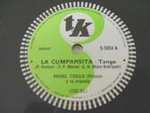 ANIBAL TROILO Tk S-5054 78rpm LA CUMPARSITA / INSPIRACION