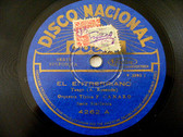 CANARO Disco Nacional 4262 TANGO 78rpm EL ENTRERRIANO /  LA CUMPARSITA