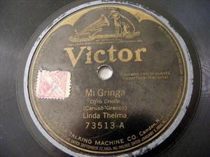 LINDA THELMA Victor 73513 TANGO 78 MI GRINGA/NO SEAS MA