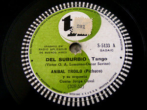 ANIBAL TROILO Tk 5133 TANGO 78 DEL SUBURBIO / MANO BRAVA EX