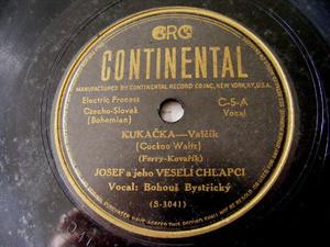 JOSEF & VESELI CHLAPCI Continental 5 CZECH 78 KUKACKA