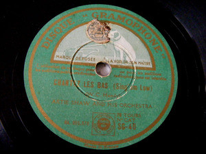 ARTIE SHAW Gramophone SG-40 JAZZ 78rpm PYRAMID