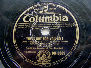 FRANK SINATRA Australian COLUMBIA DO-3389 78 ALMOST LIK