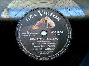 SAMUEL AGUAYO Victor 681476 ETHNIC 78rpm SE QUE TE PERD