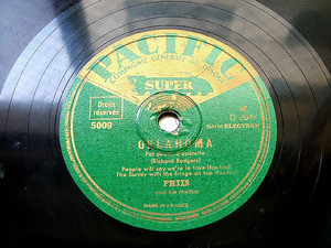 FRIIS & His Rhythm PACIFIC 5009 JAZZ 78rpm