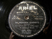 PAUL ANKA Ariel 10073 78rpm MEDIANOCHE/VERBOTEN