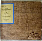 "Rare MENUHIN & DE VITO Angel LPC-10519 BACH 10"" Arg LP"