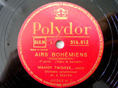 WANDY TWOREK Polydor 516812 VIOLIN  78rpm SARASATE NM