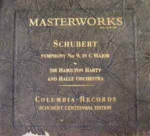 HAMILTON HARTY Columbia 67423 7x78 Set SCHUBERT