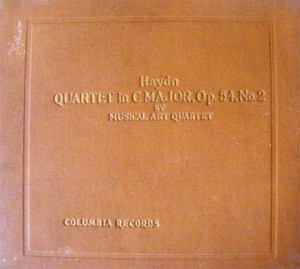 MUSICAL ART QUARTET Columbia 67320-D 3x78 Set HAYDN