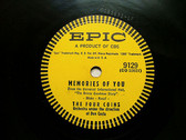 THE FOUR COINS Epic 9129 78rpm TEAR DOWN THE FENCE