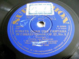 FRANTIZEK RAUCH Supraphon 23369 PIANO2x78 Set BEETHOVEN