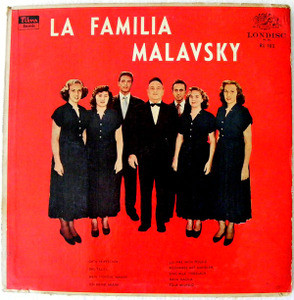 FAMILIA MALAVSKY Arg LONDISC RL-103 YIDDISH LP